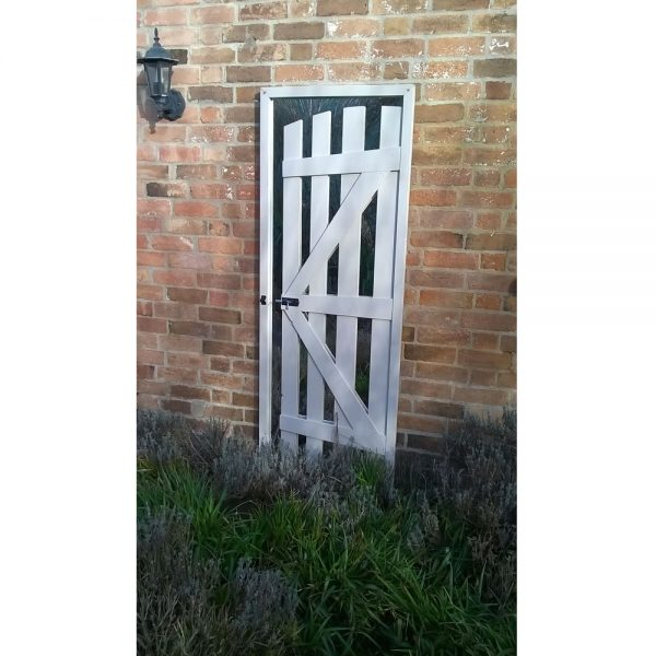 Slimline Gate Ajar Illusion Garden Mirror