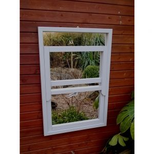 Sash Window Garden Mirror Illusion