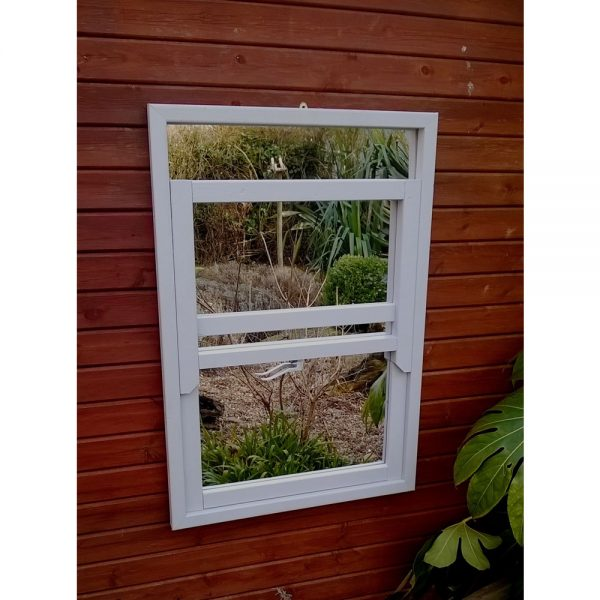 Sash Window Garden Mirror Illusion