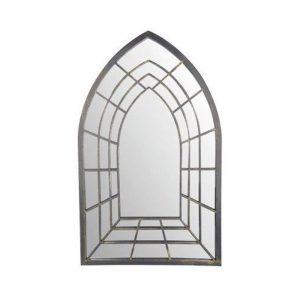 Trompe L'oeil Gothic Perspective Garden Mirror