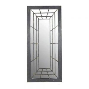 Trompe L'oeil Rectangle Garden Perspective Mirror