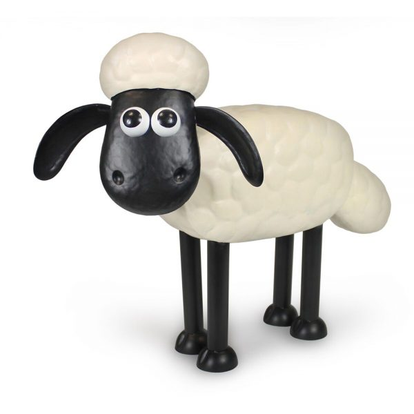 Shaun the Sheep Metal Garden Ornament
