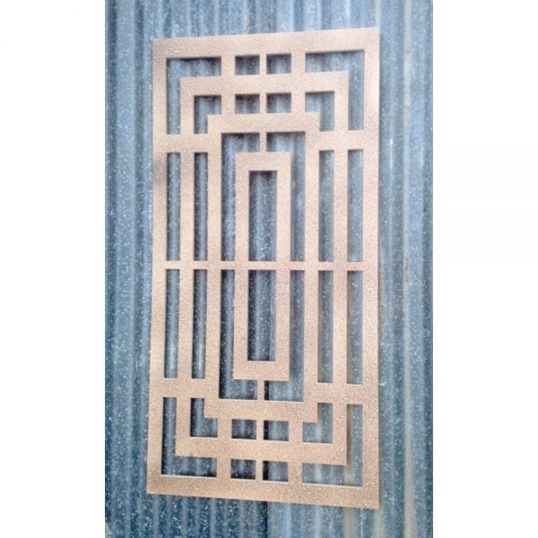 Recycled Box Maze Decorative Garden Wall Panel