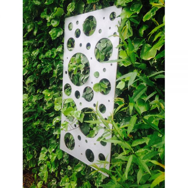 Recycled Bubble Decorative Garden Wall Panel