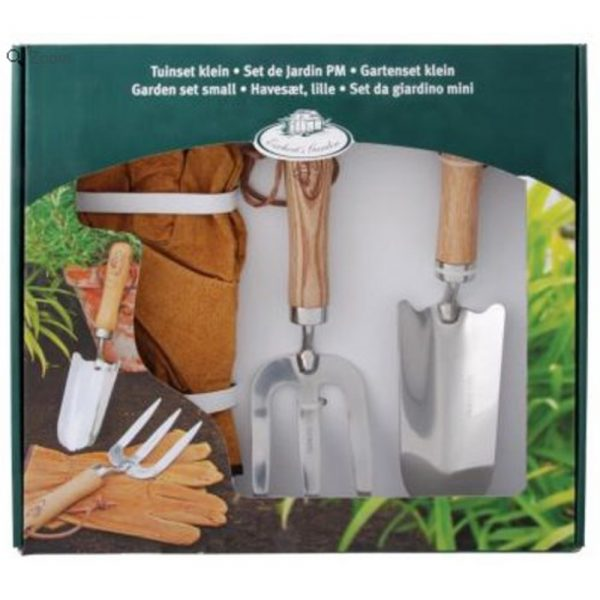 Small Garden Gift Set with Hand Tools and Gardening Gloves