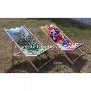 Printed Personalised Garden Deckchairs