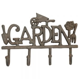 Cast Iron Decorative Garden Hooks