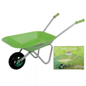 Children's Bright Green Wheelbarrow
